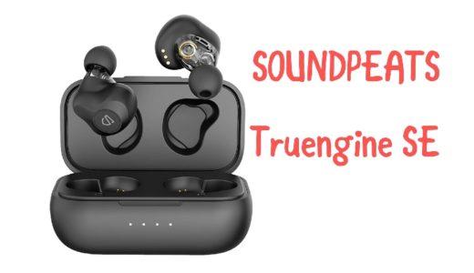 【SOUNDPEATS Truengine SEレビュー】デュアルドライバー 搭載のワイヤレスイヤホン【TWS Plus対応】